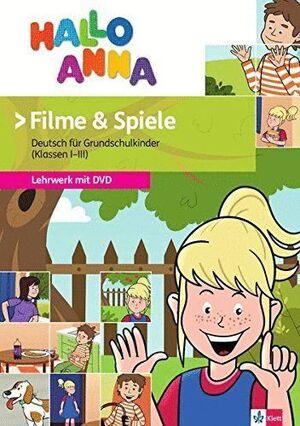 HALLO ANNA, LIBRO + JUEGOS + DVD