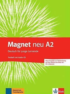 MAGNET NEU A2 TESTS+CD GOETHE-ZERT FIT