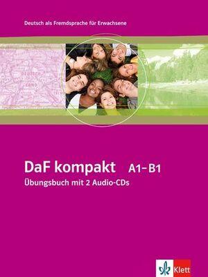 DAF KOMPAKT - NIVEL A1-B1 - CUADERNO DE EJERCICIOS + 2 CD (EDICIÓN EN UN SOLO VOLUMEN)