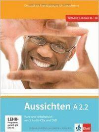 AUSSICHTEN A2.2 ALUMNO EJERCICIOS 2 CD DVD