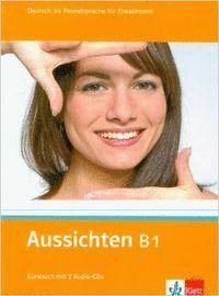 AUSSICHTEN B1 LIBRO ALUMNO 2CD