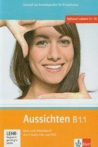 AUSSICHTEN B1.1 ALUMNO EJERCICIOS 2 CD DVD