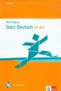 MIT ERFOLG ZU START DEUTSCH, LIBRO DE TESTS + CD