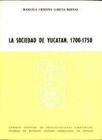 SOCIEDAD DE YUCATÁN (1700-1750)