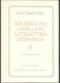 BIBLIOGRAFÍA DE LA LITERATURA HISPÁNICA. TOMO II. LITERATURA CASTELLANA: EDAD MEDIA VOL. 1