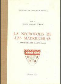 LA NECRÓPOLIS DE LAS MADRIGUERAS, CARRASCOSA DEL CAMPO (CUENCA)