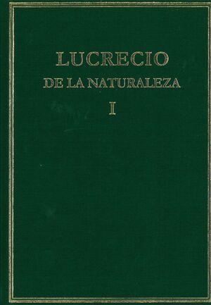 DE LA NATURALEZA. VOL. I. LIBROS I-III