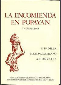 LA ENCOMIENDA EN POPAYÁN