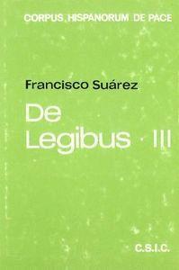DE LEGIBUS (T.3) DE LEGE NATURALI