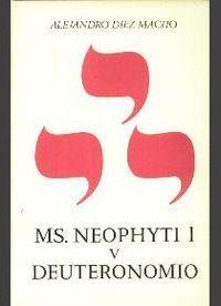 NEOPHYTI 1, TARGUM PALESTINENSE MANUSCRITO DE LA BIBLIOTECA VATICANA. TOMO V. DEUTERONOMIO