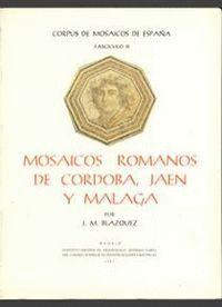 MOSAICOS ROMANOS DE CÓRDOBA, JAÉN Y MÁLAGA