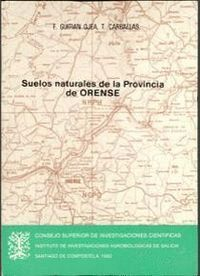 SUELOS NATURALES DE LA PROVINCIA DE ORENSE