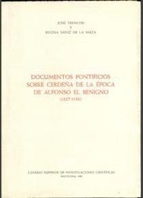 DOCUMENTOS PONTIFICIOS SOBRE CERDEÑA DE LA ÉPOCA DE ALFONSO EL BENIGNO (1327-1336)