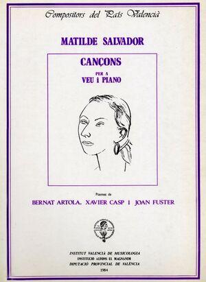 CANCONS A VEU I PIANO