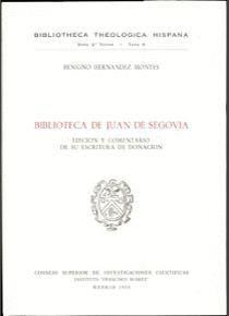 BIBLIOTECA DE JUAN DE SEGOVIA