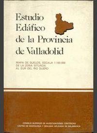 ESTUDIO EDÁFICO DE LA PROVINCIA DE VALLADOLID