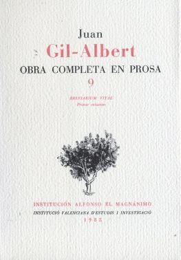 OBRA EN PROSA COMPLETA IX