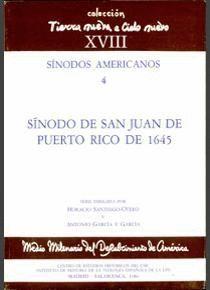 SÍNODO DE SAN JUAN DE PUERTO RICO DE 1645