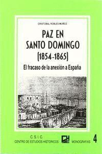 PAZ EN SANTO DOMINGO (1854-1865)