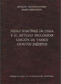 PEDRO MARTÍNEZ DE OSMA Y EL MÉTODO TEOLÓGICO