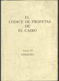 EL CÓDICE DE PROFETAS DE EL CAIRO, 6 EZEQUIEL