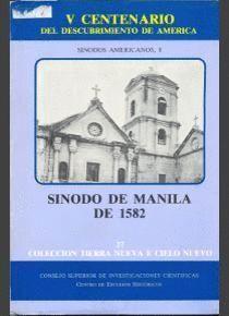 SÍNODO DE MANILA DE 1582