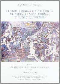 CONSTITUCIONES Y LEYES POLÍTICAS DE AMÉRICA LATINA, FILIPINAS Y GUINEA ECUATORIAL. TOMO II/1. LOS RE