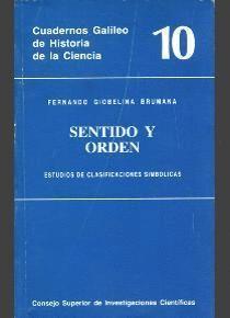 SENTIDO Y ORDEN