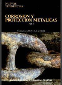 CORROSIÓN Y PROTECCIÓN METÁLICAS