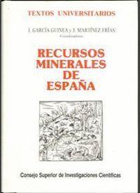 RECURSOS MINERALES EN ESPAÑA