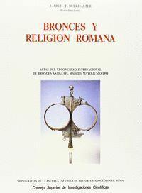 BRONCES Y RELIGIÓN ROMANA