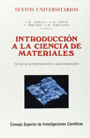 INTRODUCCIÓN A LA CIENCIA DE MATERIALES