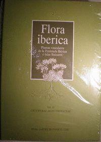 FLORA IBÉRICA. VOL. IV. CRUCIFERAE-MONOTROPACEAE