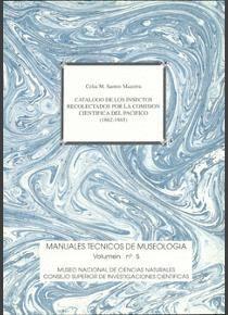 CATÁLOGO DE LOS INSECTOS RECOLECTADOS POR LA COMISIÓN CIENTÍFICA DEL PACÍFICO (1862-1865)