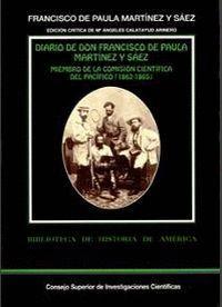 DIARIO DE DON FRANCISCO DE PAULA MARTÍNEZ Y SÁEZ