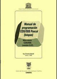 MANUAL DE PROGRAMACIÓN CDS/ISIS PASCAL (ISISPAS)