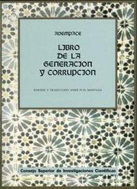 LIBRO DE LA GENERACIÓN Y CORRUPCIÓN (KITAB AL-KAWN WA-L-FASAD)