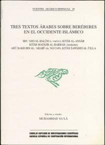 TRES TEXTOS ÁRABES SOBRE BERÉBERES EN EL OCCIDENTE ISLÁMICO