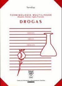 TERMINOLOGÍA MULTILINGÜE: DROGAS