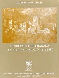 EL SULTANAT DE GRANADA I LA CORONA D´ARAGÓN (1410-1458)