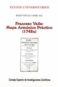 FRANCESC VALLS MAPA ARMÓNICO PRÁCTICO (1742A)