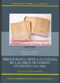BIBLIOGRAFA CRTICA ILUSTRADA DE LAS OBRAS DE DARWIN EN ESPAÑA (1857-2008)
