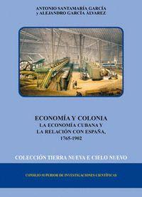 ECONOMA Y COLONIA LA ECONOMA CUBANA Y LA RELACIÓN CON ESPAÑA (1765-1902)