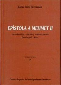 EPSTOLA A MEHMET II