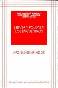 ESPAÑA Y POLONIA LOS ENCUENTROS