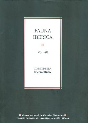 FAUNA IBÉRICA. VOL. 40. COLEOPTERA: COCCINELLIDAE