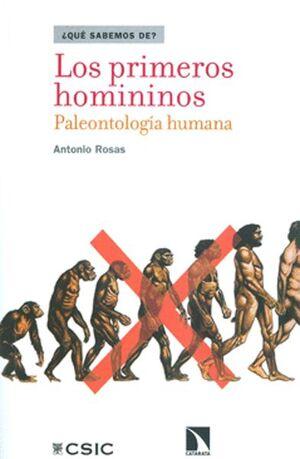LOS PRIMEROS HOMINIDOS