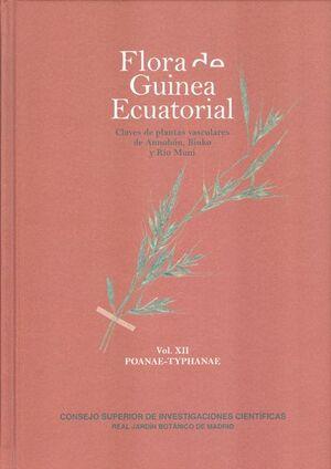 FLORA DE GUINEA ECUATORIAL. VOL. XII: POANAE-TYPHANAE