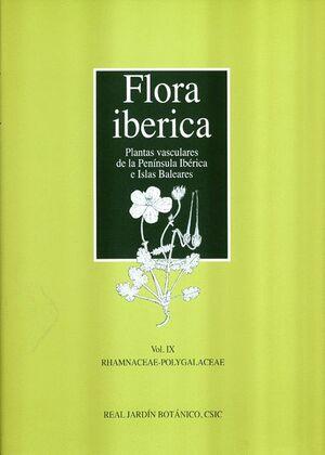 FLORA IBERICA VOL. IX: RHAMNACEAE-POLYGALACEAE