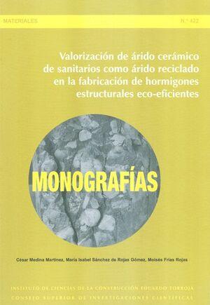 VALORIZACIÓN DE ÁRIDO CERÁMICO DE SANITARIOS COMO ÁRIDO RECICLADO EN LA FABRICACIÓN DE HORMIGONES ESTRUCTURALES ECO-EFICIENTES